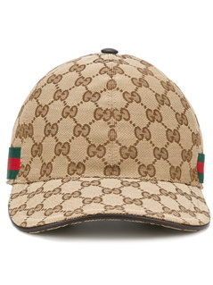 Gucci - Original GG Supreme Baseball Cap - Men - Cotton/Polyamide/Polyester - L