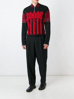Jean Paul Gaultier Vintage raised logo jumper