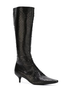 Helmut Lang Vintage perforated boots