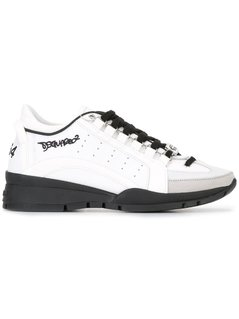 Dsquared2 - 551 Sneakers - Women - Calf Leather/Leather/Rubber - 38