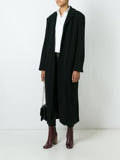 Romeo Gigli Vintage ribbed long coat