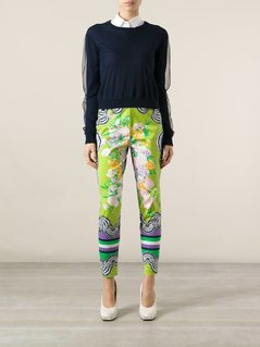 Versace Vintage patterned trouser