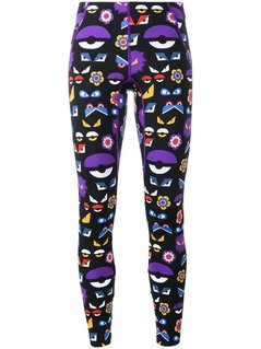 Fendi - Bag Bugs Printed Leggings - Women - Polyamide/Spandex/Elastane - 42