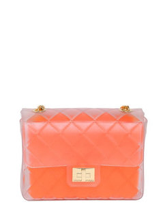 Normal designinverso taormina quilted pvc shoulder bag