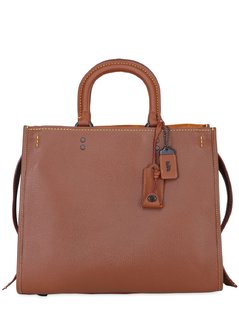 ROGUE 36 PEBBLED LEATHER TOP HANDLE BAG