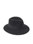 Two Tone Henrietta Felt Hat
