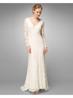 Phase Eight Evelyn Lace Beaded Bridal Dress