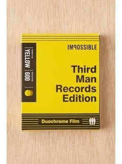 Impossible Third Man Records Edition Black&Yellow Instant Film