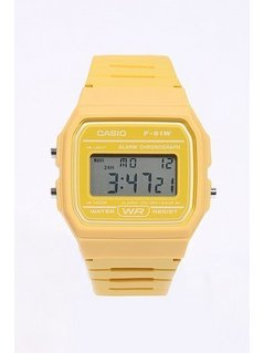 Casio Casual Yellow Digital Watch - Mens ONE SIZE