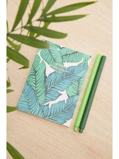 Woouf Tropical Leaf A6 Notebook