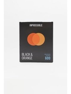 Impossible Duochrome Black&Orange Polaroid 600 Instant Film