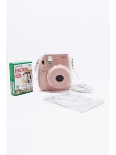 Fujifilm Instax Mini 8 Pink Camera Bundle