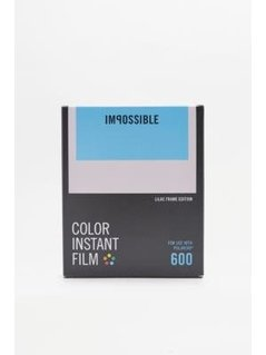 Impossible Lilac Frame Edition Colour Polaroid 600 Film