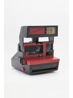Impossible Project Red Polaroid 600 Instant Camera