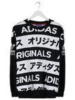 adidas Originals TYPO Bluza black/white