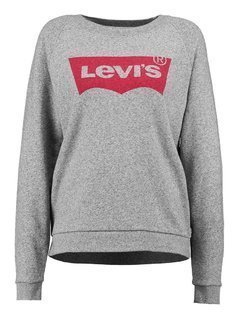 Levi's® RELAXED GRAPHIC CREW Bluza smokestack heather