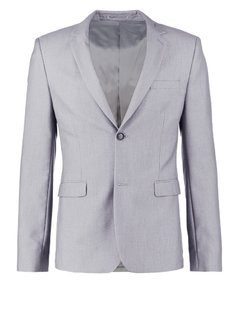Topman DAGGER SKY  Marynarka garniturowa light grey