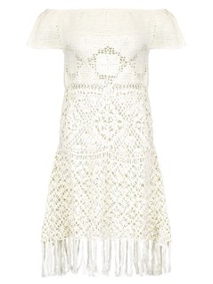 Somedays Lovin BAY BREEZE OFF SHOULDER Akcesoria plażowe cream