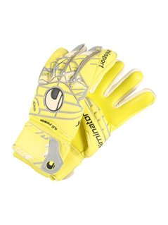 Uhlsport ELIMINATOR Rękawice bramkarskie lite fluo yellow/griffin grey/white