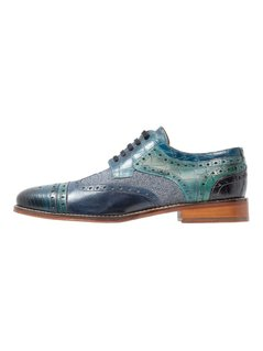 Melvin & Hamilton PHIL  Oksfordki blue/bluette/mid blue/light blue/turquoise/navy