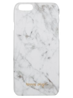 Happy Plugs Etui na telefon white carrara marble