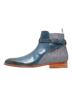 Melvin & Hamilton KANE 1 Botki jeans/mid blue/denim light blue