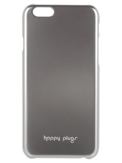 Happy Plugs Etui na telefon silver