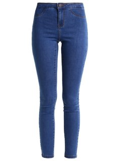 Vero Moda VMMAJSE Jeansy Slim fit medium blue denim