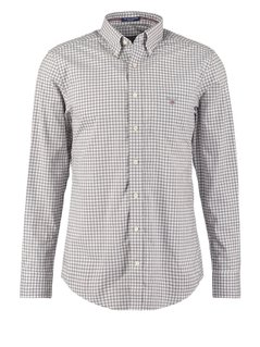 GANT REGULAR FIT Koszula grey day