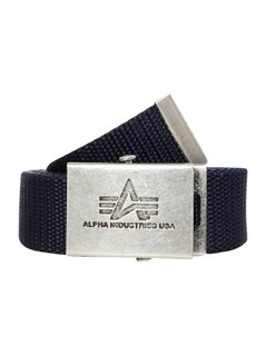Alpha Industries HEAVY DUTY Pasek blue
