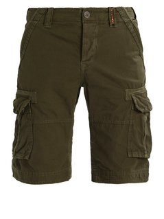 Superdry CORE  Szorty truest khaki