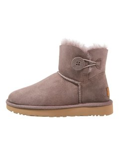 UGG MINI BAILEY BUTTON II Śniegowce stormy grey