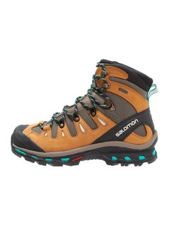 Salomon QUEST 4D 2 GTX  Buty trekkingowe shrew/camel gold/teal blue