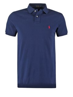 Polo Ralph Lauren CUSTOM FIT Koszulka polo newport navy