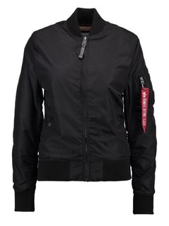 Alpha Industries Kurtka Bomber black