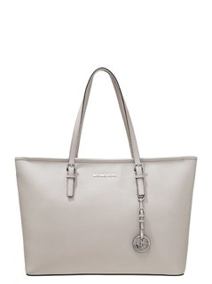 Normal michael michael kors jet set travel torba na zakupy cement