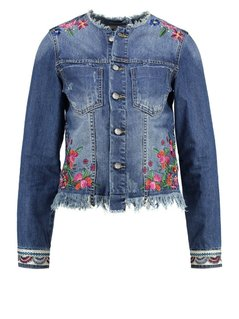 Desigual NOUCOL Kurtka jeansowa denim medium wash