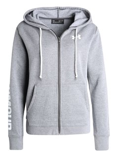 Under Armour FAVORITE  Bluza rozpinana carbon heather