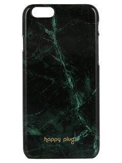 Happy Plugs Etui na telefon jade green marble
