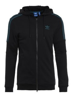 adidas Originals Bluza rozpinana black