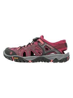 Merrell ALL OUT BLAZE SIEVE Sandały trekkingowe vineyard wine