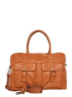Pier One Torba weekendowa cognac