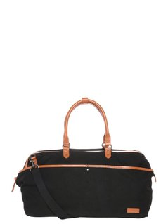 Pier One Torba weekendowa black canvas