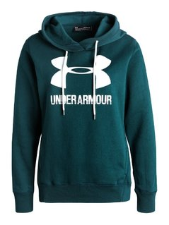 Under Armour FAVORITE  Bluza z polaru arden green