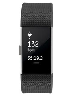Fitbit CHARGE 2 Pulsometr black/silvercoloured