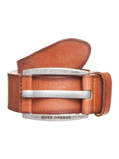 BOSS Orange BAKABA Pasek medium brown