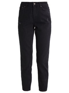 ONLY ONLMOM ANKLE Jeansy Relaxed fit black