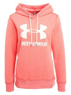 Under Armour FAVORITE  Bluza z polaru marathon red
