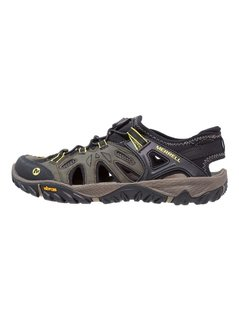 Merrell ALL OUT BLAZE SIEVE Sandały trekkingowe olive/night