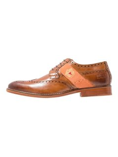 Melvin & Hamilton EDDY  Oksfordki devine/wood/orange/gold